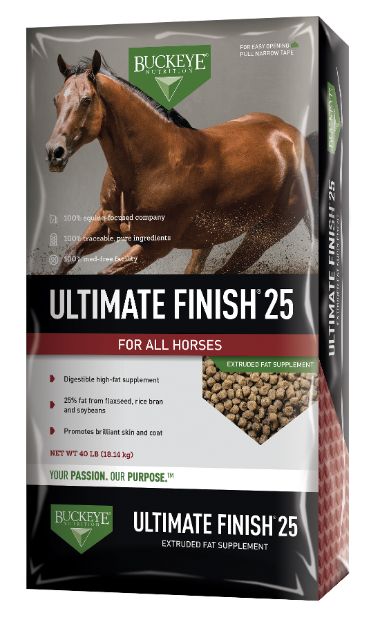 ULTIMATE FINISH™ 25 | Fat Supplement for Horses