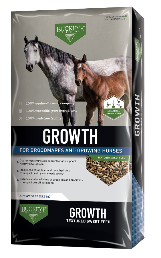 Growth Textured Sweet Feed package