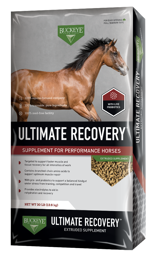 ULTIMATE RECOVERY™ Extruded Performance Supplement package