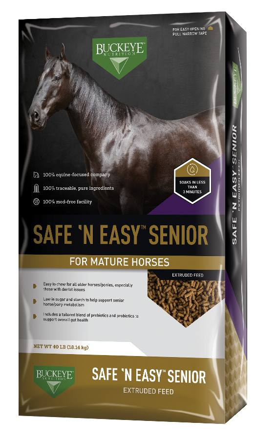 SAFE 'N EASY™ Senior Extruded Feed package