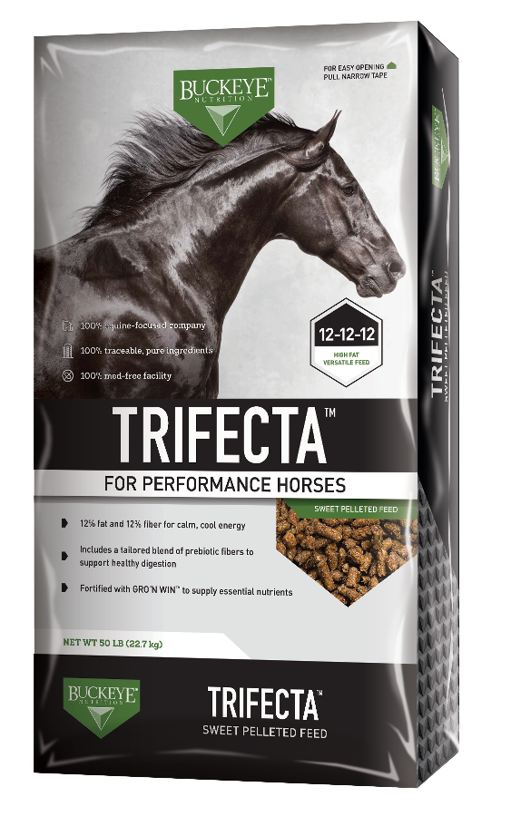 TRIFECTA™ Sweet Pelleted Feed package