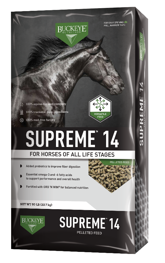 SUPREME™ 14 Pelleted Feed package